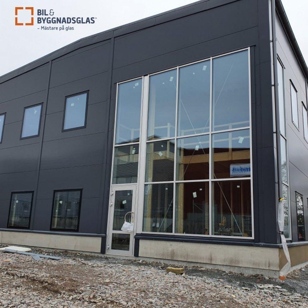 Aluminiumpartier - bilobyggnadsglas.se
